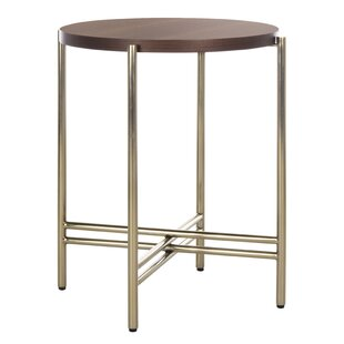 Reviews Cassie End Table by Everly Quinn