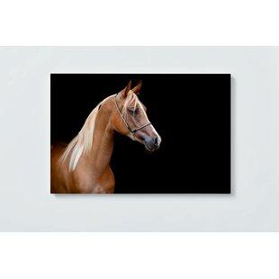 Horse Motif Magnetic Wall Mounted Cork Board By Ebern Designs
