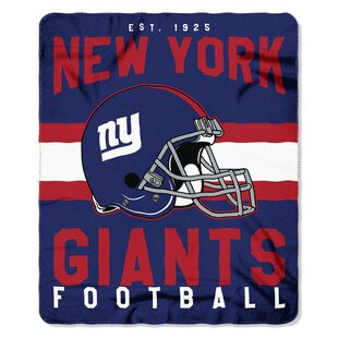NFL New York Giants Printed Fleece Throw By Northwest