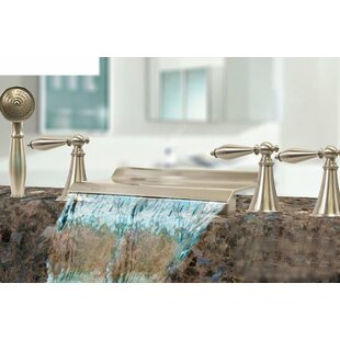 Kokols Triple Handle Deck Mount Waterfall..