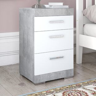 Haygashen Bedside Table By 17 Stories