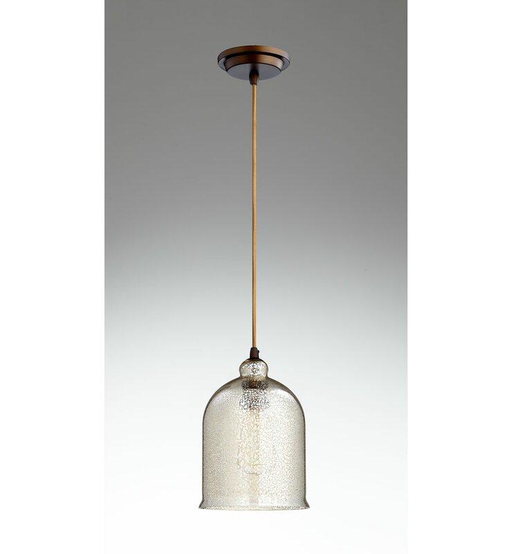 Cyan Design Celia 1 Light Single Bell Pendant Perigold