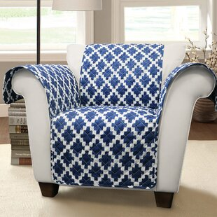 Wellow Ikat T-Cushion Armchair Slipcover