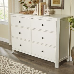 Marilyn 6 Drawer Double Dresser