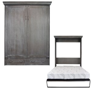 Cedarville Queen Murphy Bed by Rosecliff Heights