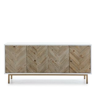 Wendover Wood And Metal Sideboard By World Menagerie