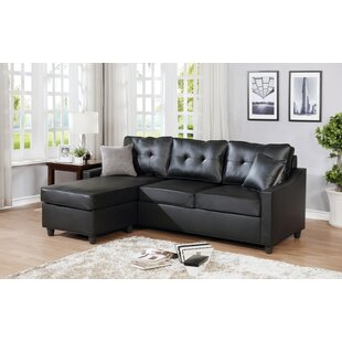 Huson Reversible Modular Sectional with Ottoman