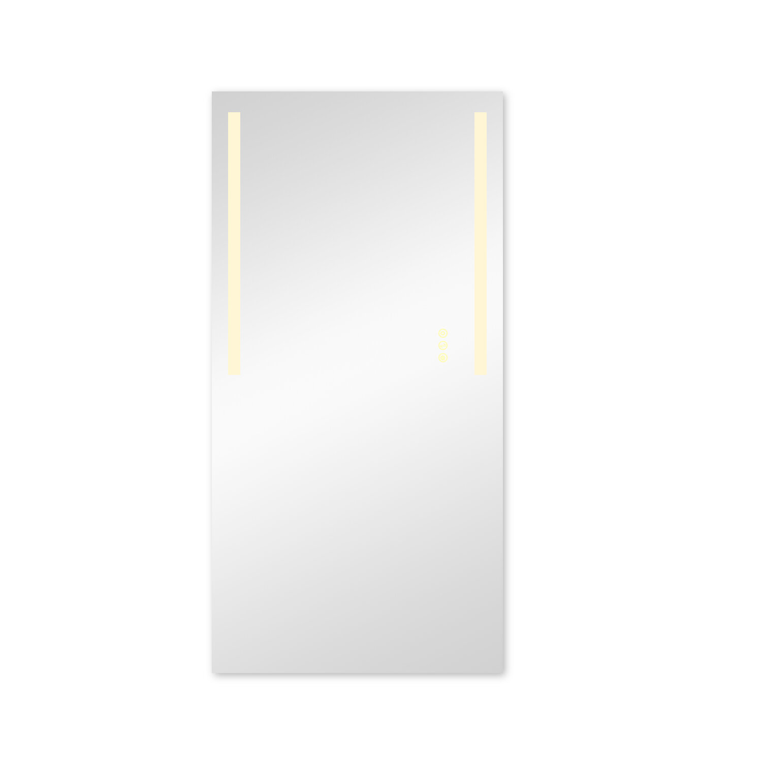 Picture of: Orren Ellis 36 In X 72 In Dimmable Wall Mounted Led Lighted Vanity Mirror Wayfair Ca