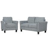 Elisia 2 Piece Standard Living Room Set by Red Barrel Studio®