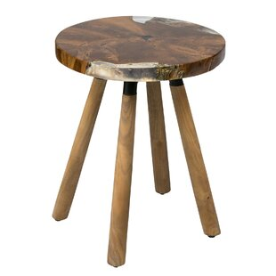 Erskine End Table by Millwood Pines