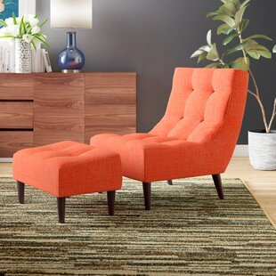 Mercury Row Bouck Lounge Chair and Ottoman