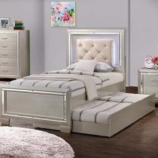 Rocky Upholstered Storage Platform Bed by Harriet Bee
