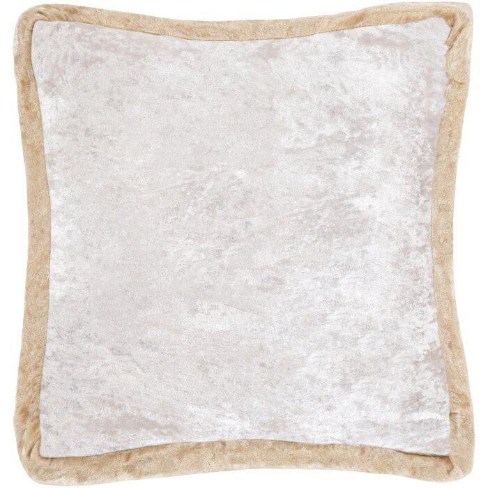 Decorative Throw Pillow Crush Velvet