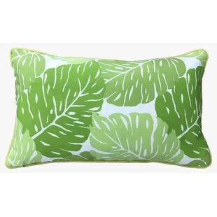 Idella Leaves Outdoor Lumbar Pillow