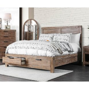 Perez Storage Panel Bed by Union Rustic