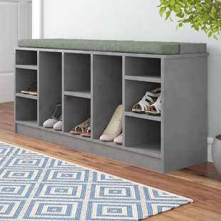 10 Pair Shoe Storage Bench by Red Barrel Studio