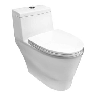 LessCare 1.6 GPF Elongated One-Piece Toilet