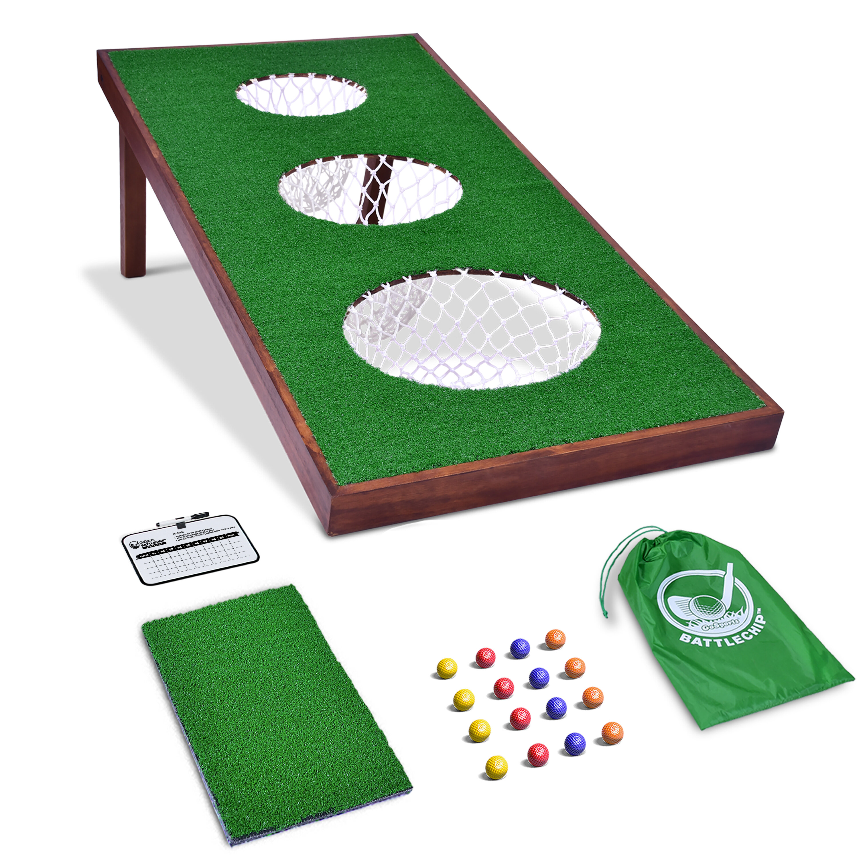 Remarkable Battlechip Pro Golf Game Cornhole Board Dailytribune Chair Design For Home Dailytribuneorg