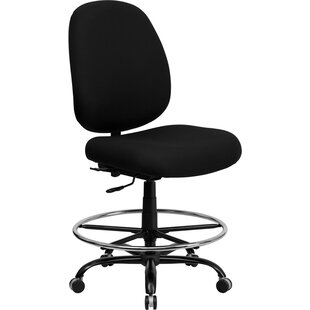 Latitude Run Ash High-Back Drafting Chair
