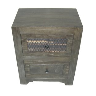 Goodwater 2 Drawer Nightstand by Breakwater Bay
