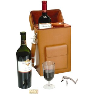 Connoisseur 2 Bottle Wine Protector and Carrier