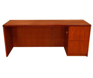 Waterfall Series Executive Desk by Carmel Furniture Find