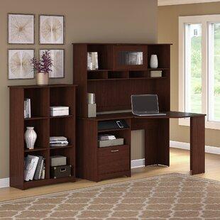Hillsdale Corner Desk with Hutch and Bookcase
