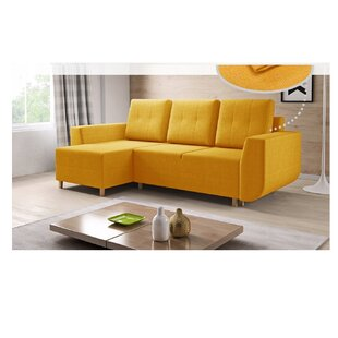 Adalberto Reversible Corner Sofa Bed By Ebern Designs
