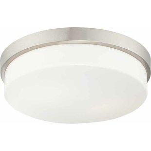 Volume Lighting 1-Light Ceiling Fixture Flush Mount