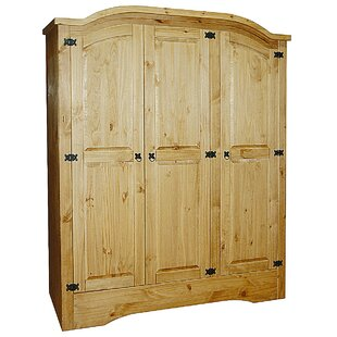 Dean 3 Door Wardrobe By Alpen Home
