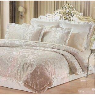 Novella Woven Damask Comforter Set