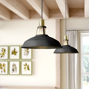 Gracie Oaks Trinton 1-Light Inverted Pendant