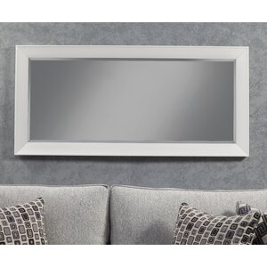 save to idea board - White Framed Mirror