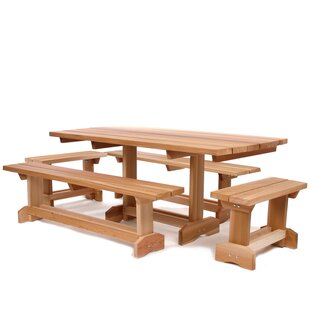 All Things Cedar 5 Piece Dining Set