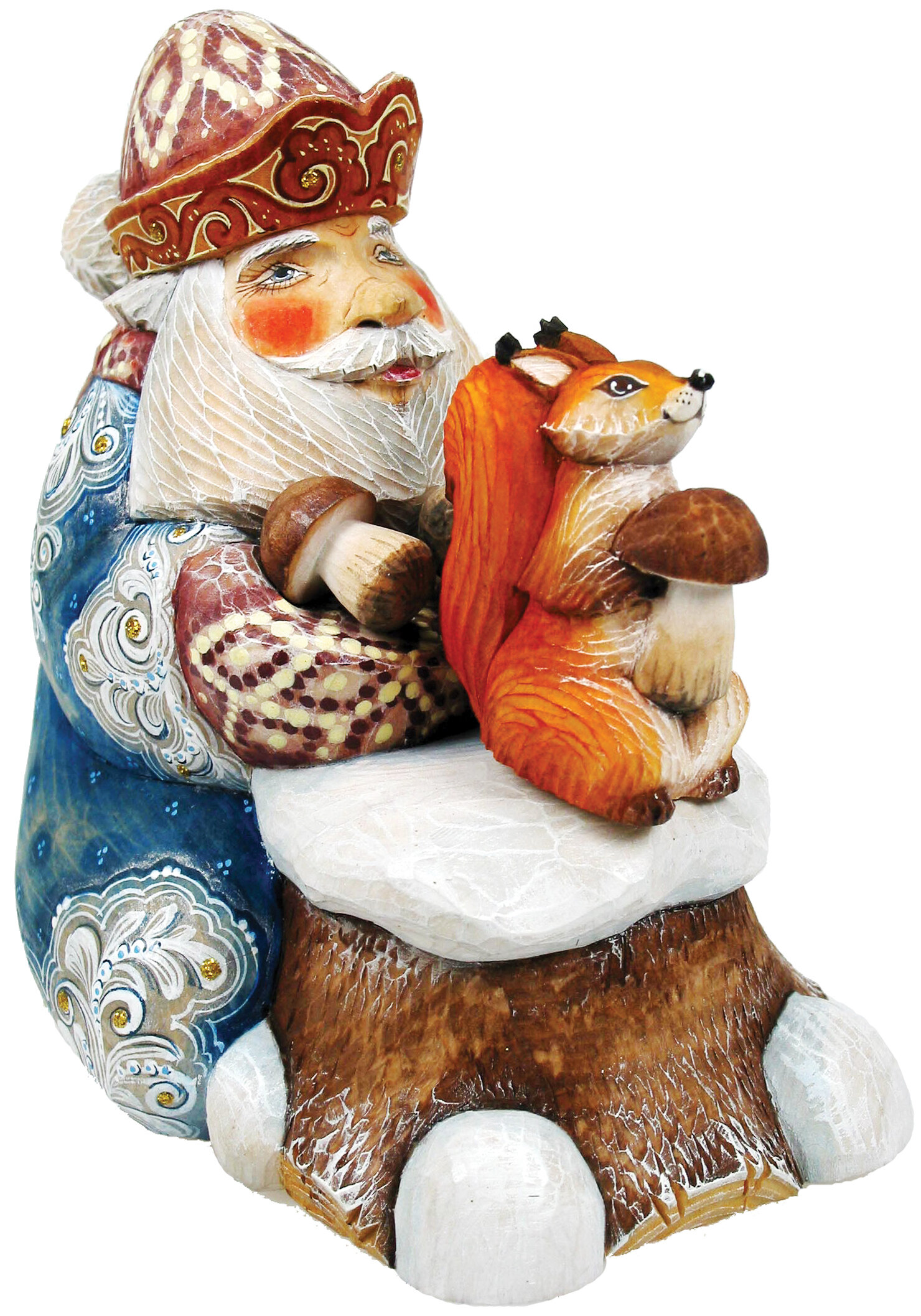 Brown Resin Santa Figurines You Ll Love In 2021 Wayfair