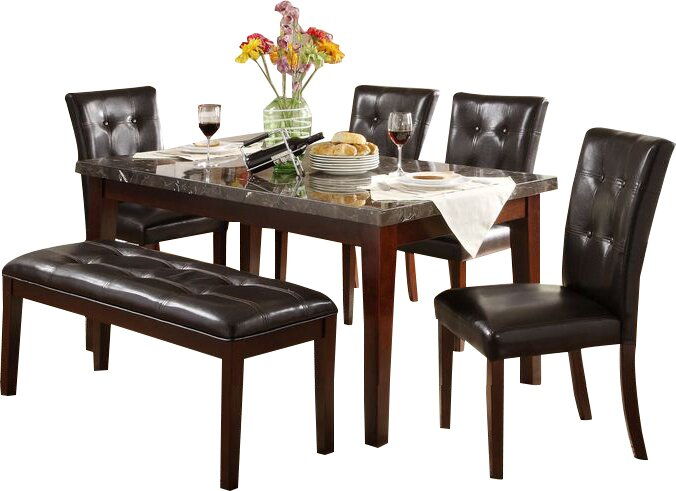 Homelegance Petrosky (TABLE ONLY) Dining  Table   Item# 7706
