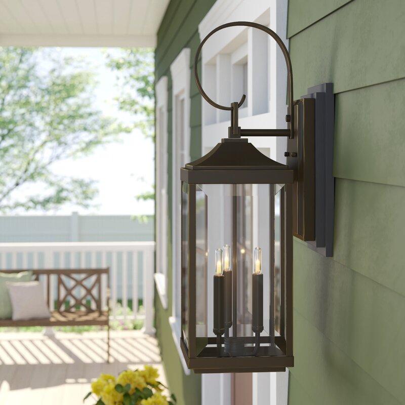 Charleston 3-Light Outdoor Wall Lantern