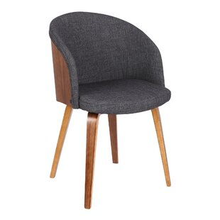 Duxbury Mid-Century Upholstered Dining Chair By Langely Street