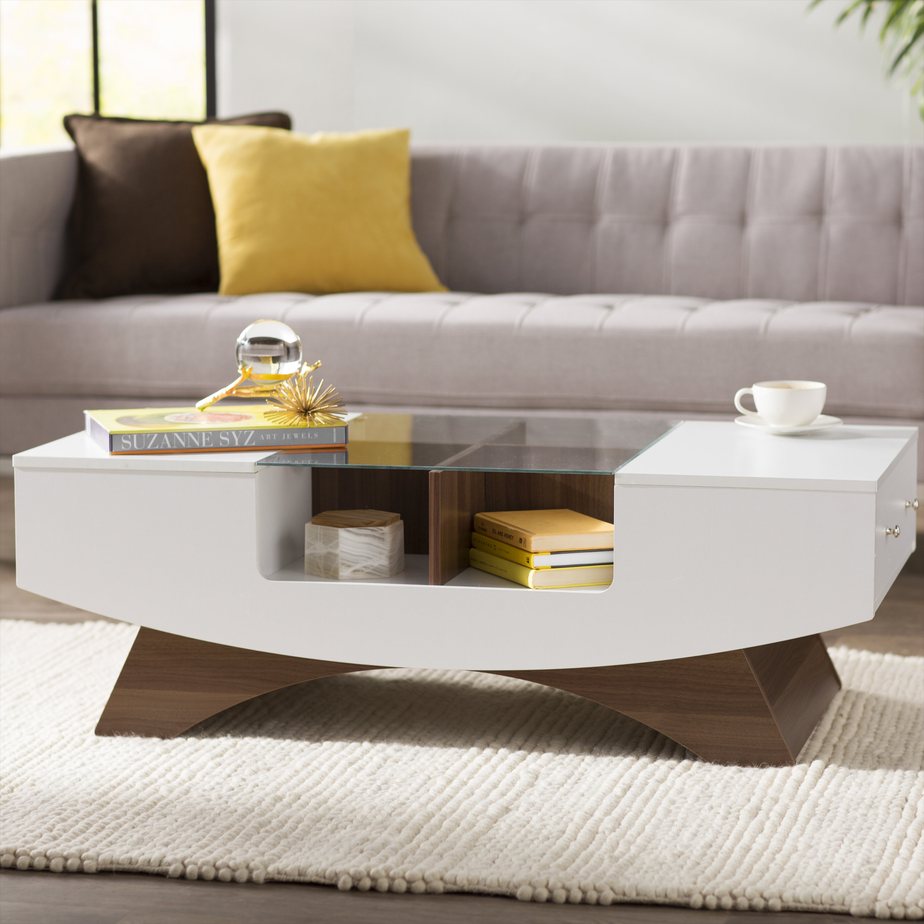 Modern Contemporary Coffee Tables You Ll Love In 2021 Wayfair