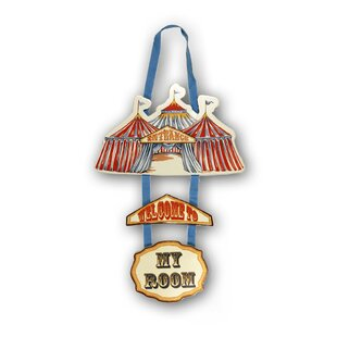Circus Fun Door Hanger by Arthouse