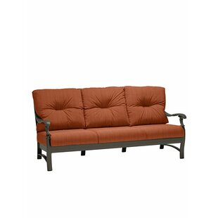 Ravello Patio Sofa with Cushions by Tropitone