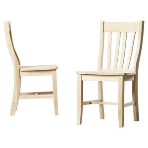 Toby Traditional Solid Wood Dining Chair Set Of 2