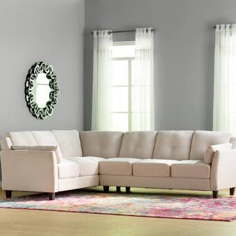 Alcott Hill Valenzuela 92 Left Hand Facing Sleeper Sectional Reviews Wayfair