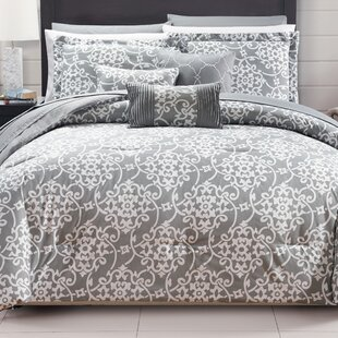 Lea 10 Piece Reversible Comforter Set