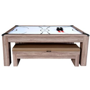 Driftwood Air Hockey Table by Hathaway Games