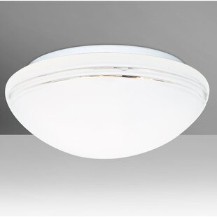 Besa Lighting Bobbi 2-Light Outdoor Flush Mount