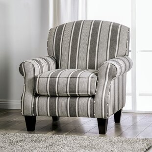 Hale Striped Chair by Red Barrel Studio