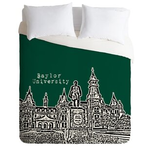 East Urban Home Baylor University Duvet Cover Set