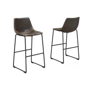 Nyron 26 Bar Stool (Set of 2) by 17 Stories
