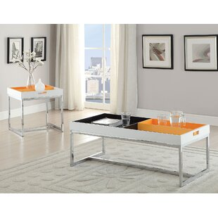 Orren Ellis Soren 2 Piece Coffee Table Set